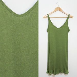 Vintage 90's Espirit Green Dress